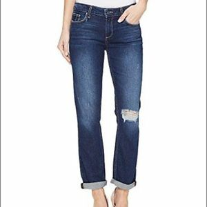 Paige Jeans Anabelle Slim Domino Destroy 25 $215